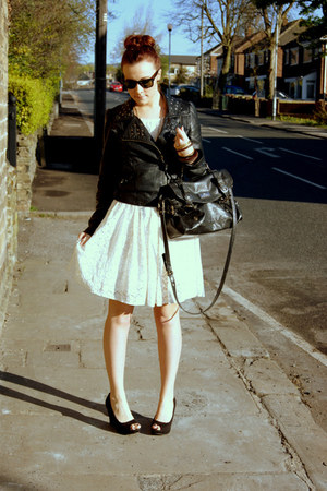 warehouse dress - Matalan jacket - River Island bag - Ray Ban sunglasses - new l