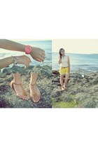 salmon bench watch - bronze Primadonna sandals