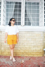 Ivory-thrifted-vintage-shirt-gold-the-sm-store-shorts