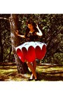 Ruby-red-heart-shaped-made-by-me-skirt-silver-made-by-me-skirt-black-crochet