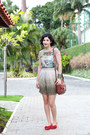 Heather-gray-ombre-richards-skirt-brown-leather-firenze-bag