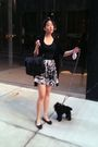 Black-proenza-schouler-purse-black-chanel-shoes-skirt-forever21-accessorie
