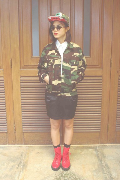 army green camouflage Nasgorrju jacket