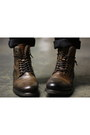 Dark-brown-aldo-boots-army-green-ben-sherman-jacket