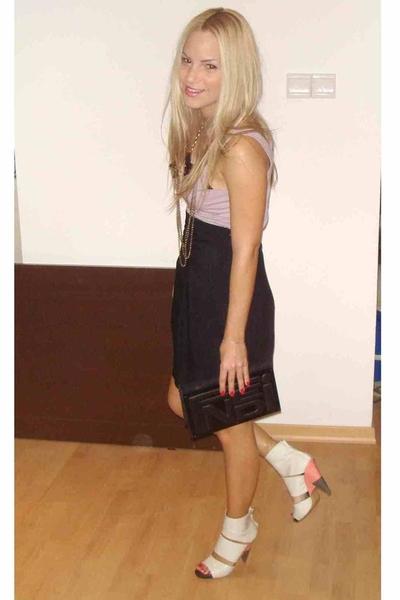 top - Zara skirt - Fendi purse - Chloe shoes