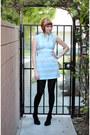 Light-blue-vintage-dress-black-h-m-tights