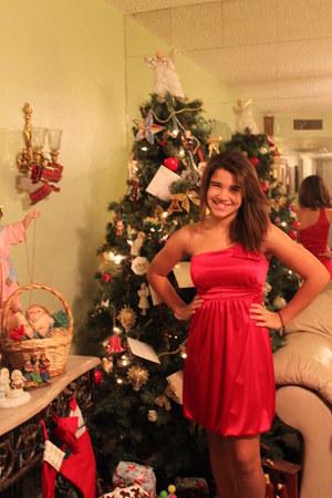red deb dress