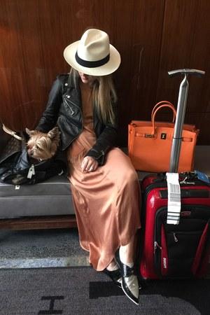 leather Zara jacket - Zara shoes