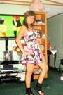 Floral-print-forever-21-dress