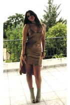 Forever 21 boots - yazz dress