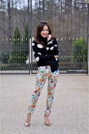 Zara sweater - Zara pants - Zara pumps