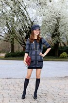 Christian Louboutin boots - sweater dress Juicy Couture dress