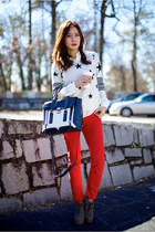 Remain top - Prada shoes - 31 Phillip Lim bag - oxford Theory blouse
