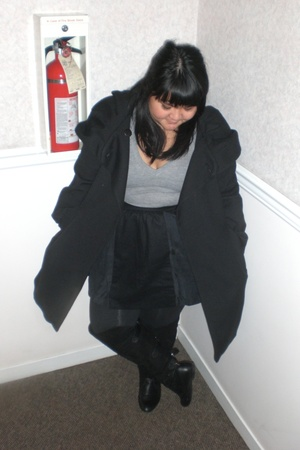 Zara coat - wilfred skirt - aa shirt - Aldo shoes
