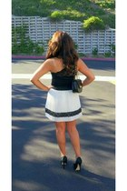 Forever 21 skirt - Bebe pumps