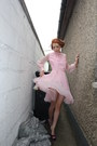 Purple-carvella-shoes-pink-vintage-dress
