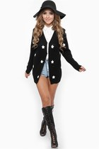 black cicihot cardigan