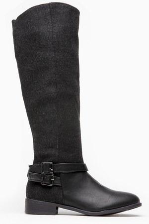 black cicihot boots