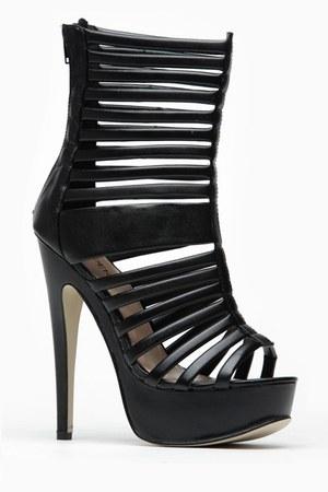 black cicihot heels