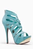 turquoise blue cicihot heels