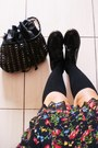 Dr-martens-shoes-bowler-hat-hat-sox-socks-pleated-skirt-acid-wash-junk-f
