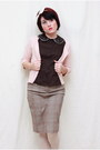 Bronx-shoes-limited-blouse-elle-cardigan