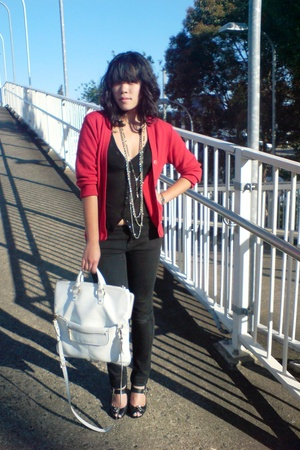 Secondhand - Nine West purse - random brand - necklace