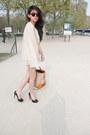 Canapaleather-prada-bag-printed-h-m-shorts-bianca-christian-louboutin-pumps
