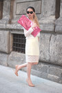 White-see-through-unbranded-shirt-hot-pink-maison-martin-margiela-x-h-m-bag