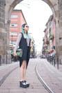 Heather-gray-wool-warm-double-agent-usa-sweater-dark-green-satchel-marni-bag