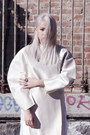 White-cindy-karmoko-coat-white-zara-shirt-white-cindy-karmoko-pants