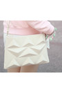 Ivory-zara-bag-light-pink-3mongkis-sweater-white-zara-shorts