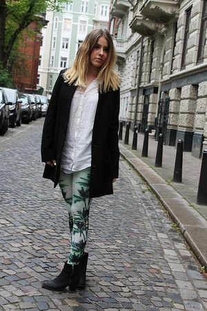 palm tree print GINA TRICOT pants