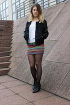 aztec print H&M skirt