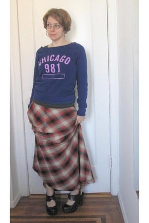 Gap skirt - f21 top - f21 clogs