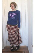Gap skirt - f21 top - f21 clogs