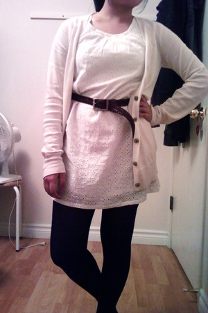 Old Navy sweater - Old Navy dress