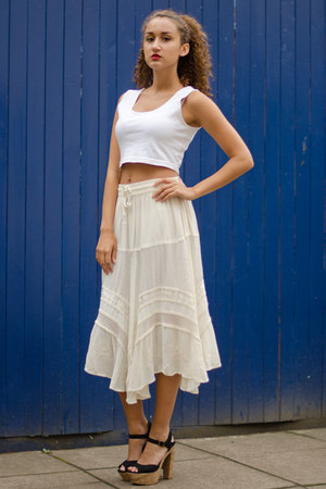 made in india skirt
