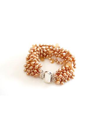 Circle & Square bracelet