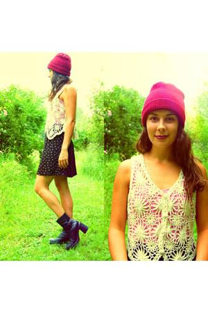 crochet vintage vest