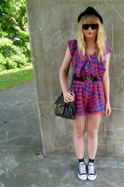 Red And Blue H&m Romper