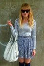 White-topshop-bag-navy-primark-socks-navy-h-m-skirt-denim-henry-holland-ve