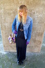 Black-ebay-boots-vintage-levis-jacket-purple-asos-bag-black-vintage-blouse