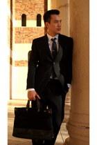 Jack Spade bag - Alfani suit