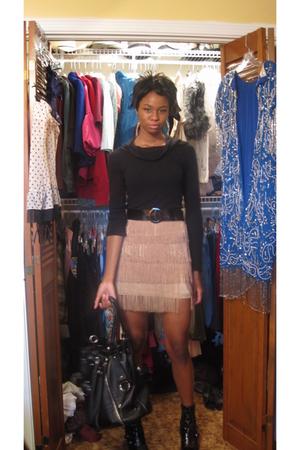 sweater - Forever21 skirt