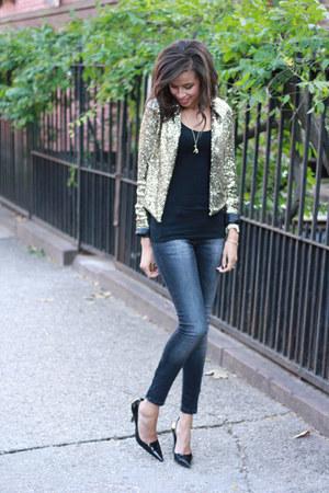 Tobi jacket - Zara jeans - H&M t-shirt
