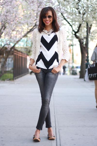 Zara jeans - Tobi top - Shabby Apple flats