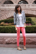 H&M blazer - Urban Outfitters pants - Lulus flats