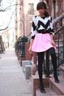Tobi-shirt-tobi-skirt-target-heels