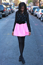 Tobi skirt - Steve Madden boots - Sway Fashion top